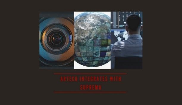 Arteco's Video Event Management Software integrates with Suprema's BioStar access control framework