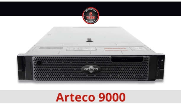 Arteco announces the launch of Arteco 9000 innovative and affordable surveillance hardware