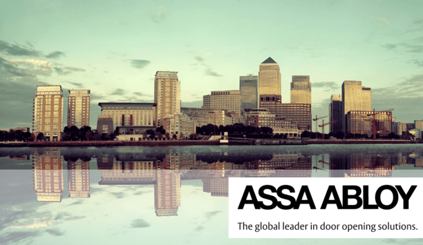 ASSA ABLOY Security Doors To Be Installed At Canary Wharf's New District