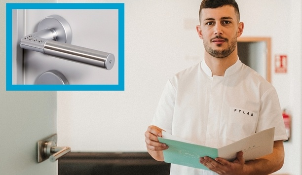 ASSA ABLOY's Code Handle protects Fylab physiotherapy practice with secure PIN-operated handles