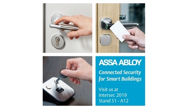 ASSA ABLOY's commercial access control solutions on display at Intersec 2019