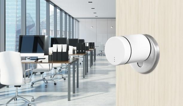 ASSA ABLOY's SMARTair Knob Cylinder provides advanced, user-friendly access management