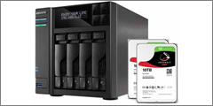 ASUSTOR announces compatibility with Seagate IronWolf 10 TB NAS hard disks