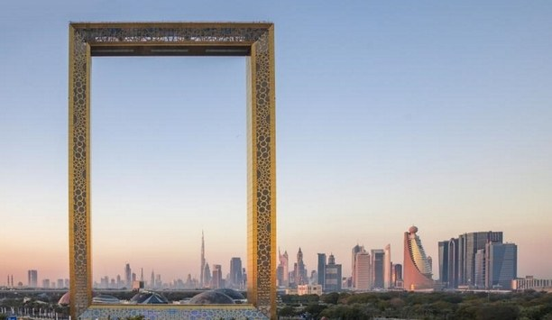 Automatic Revolving Doors From Boon Edam Provide Seamless Entry To Iconic Dubai Frame