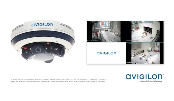 Avigilon Showcases AI And Video Analytics Integrated H4 Multisensor Camera Line At IFSEC 2018