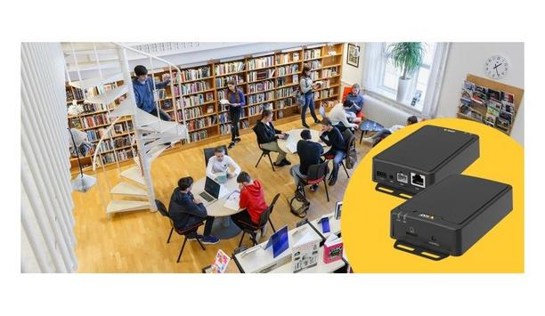 AXIS C8210 network audio amplifier provides traditional and passive speakers the benefits of network audio