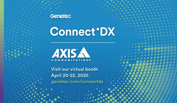 Axis invited at the Genetec Connet'DX virtual event