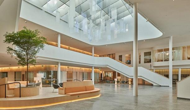 Axis Communications designs their new head office in Lund keeping the focus on employee health and well-being