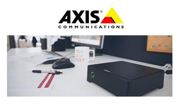 Axis Communications Launch S3008 Recorder For Axis Companion Video Management Software