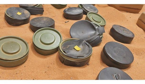 FLIR's Thermal technology used for locating buried landmines