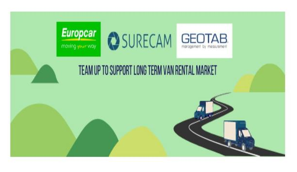 SureCam teams up with Europcar and Geotab to make video telematics technology accessible for the van rental market