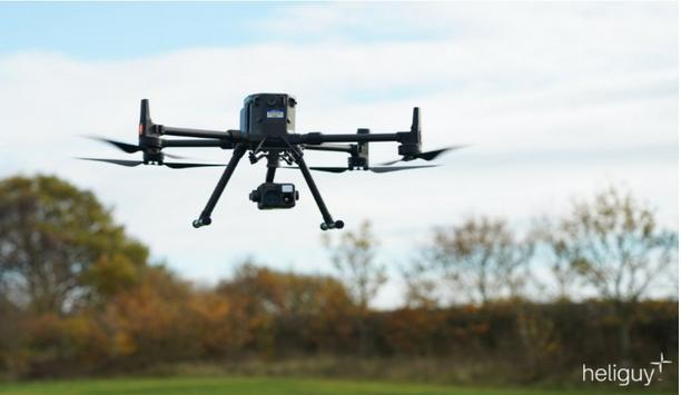 Esri UK creates end-to-end drone solution for emergency services with heliguy™ partnership