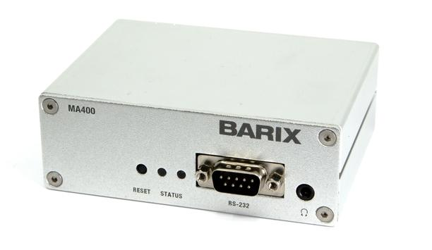 Barix to highlight IP audio and control innovations plus third-party integrations at ISC West 2020