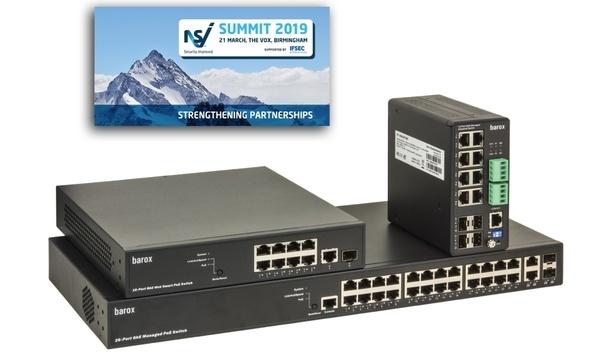 barox exhibits IP video switch range at NSI Summit 2019