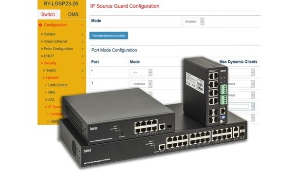 barox unveils 'Smart Sticky' MAC & IP address Enterprise-class network security