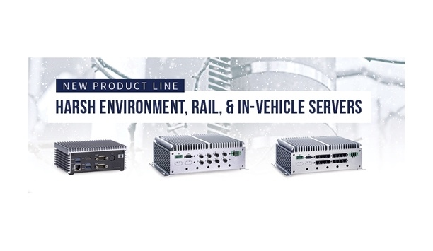 BCDVideo announces new line of harsh environment, rail, and in-vehicle servers