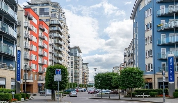 London's major housing development equipped with  Comelit video door entry systems