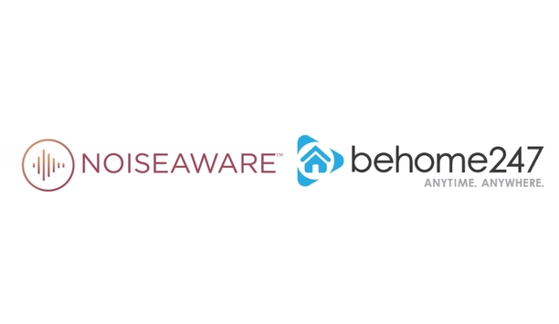 BeHome247 and NoiseAware partner to advance smart home automation by including noise monitoring alerts and management