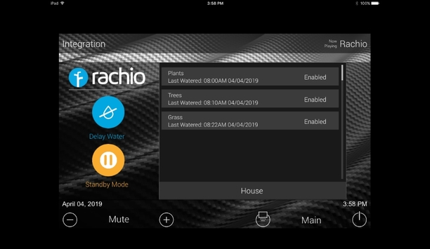 Blackwire Designs announces a new module for the integration of Rachio controllers with URC platforms
