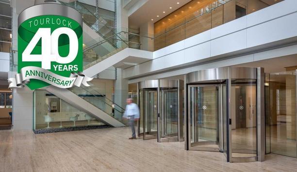 Boon Edam announces 40th anniversary of the Tourlock security revolving door launch