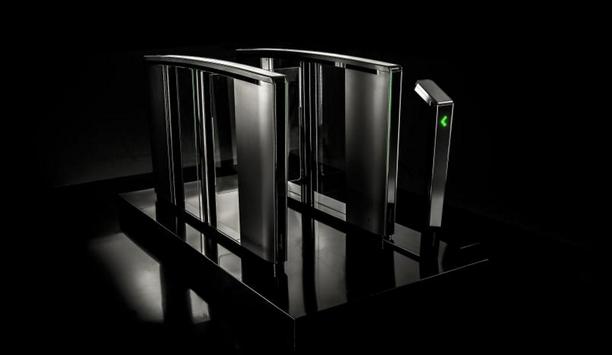 Boon Edam adds Lifeline Boost access control pedestal mount to the Lifeline Speedlane series of optical turnstiles