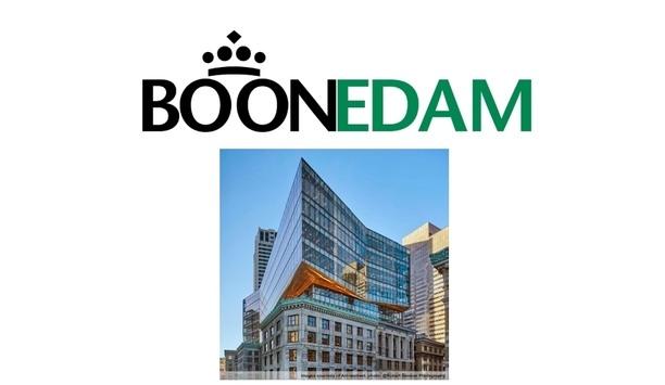 33 Congress Street in Boston installs custom-designed Boon Edam revolving doors and turnstiles