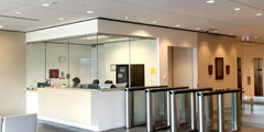 Boon Edam Swinglane 900 Turnstile Improves Access Control For Shell Chemical Building In Texas