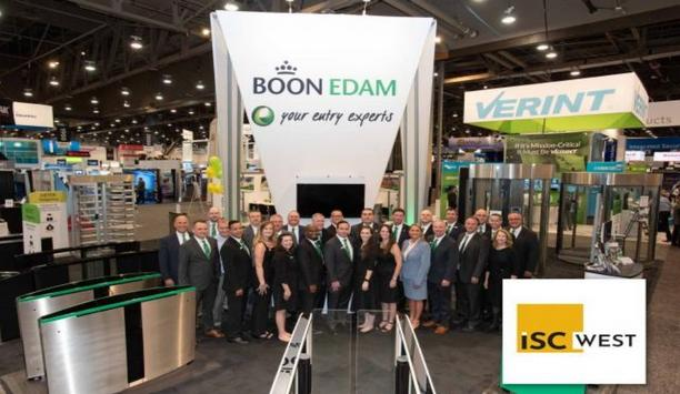 Boon Edam to demonstrate touchless, automatic security doors and turnstiles at ISC West