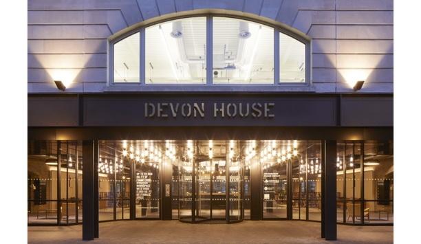 Boon Edam Installs A TQM Manual Revolving Door At Devon House At St. Katharine Docks To Enhance Entrance Security