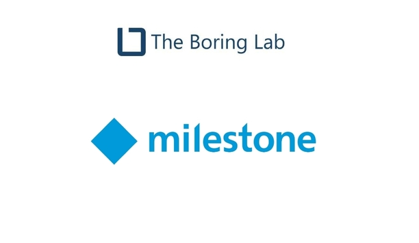 The Boring Labs Gets Recognized As Milestone Systems' Solution Partner Of The Year