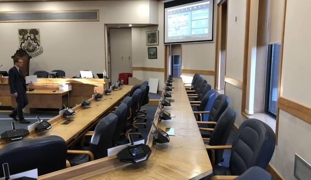 Bosch safeguards Basingstoke and Deane Borough Council with its DICENTIS conference system