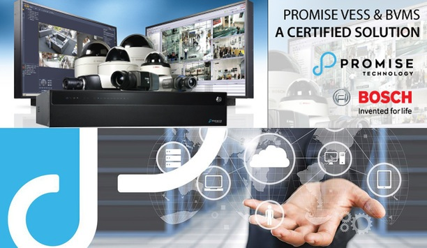 Promise VESS A-Series NVRs now certified for use with Bosch BVMS