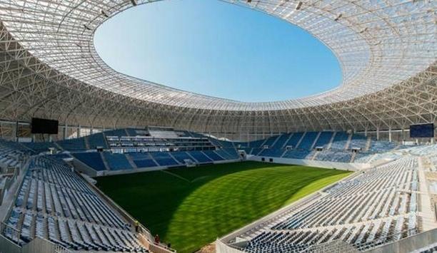 Bosch utilizes premium safety and security solutions at Romania's Craiova Stadium