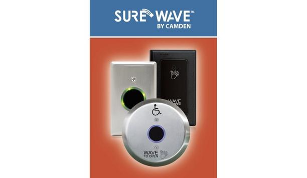 Camden Door Controls Launches SureWave Extensive Range Of Wireless No-Touch Switch Solutions