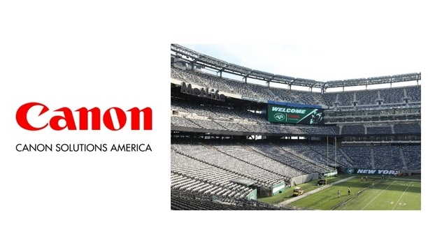 Canon Solutions America hosted a security event at MetLife Stadium for business development
