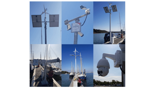 Dahua Technology's surveillance system secures Yarmouth Harbour from thefts