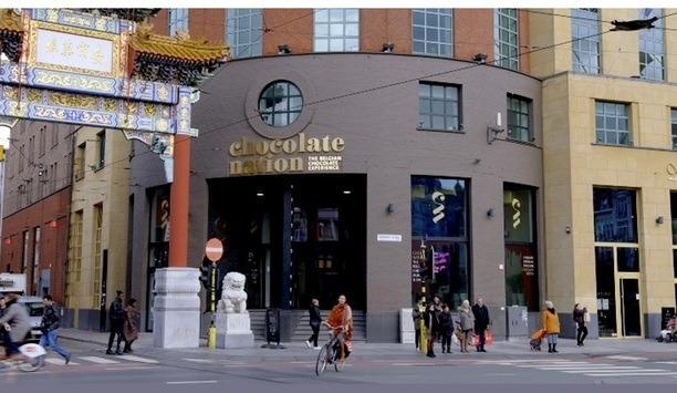 Chocolate Nation installs Panasonic security cameras and laser projectors at its immersive Belgium museum