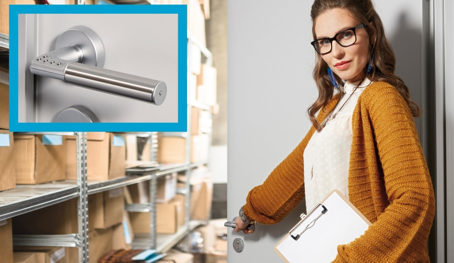 ASSA ABLOY's Code Handle digital PIN locking solution ensures enhanced security and authorised access control