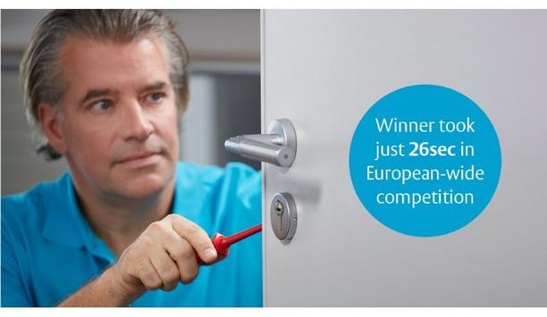 ASSA ABLOY's Code Handle digital locking solution helps transform interior door security in just 26 seconds