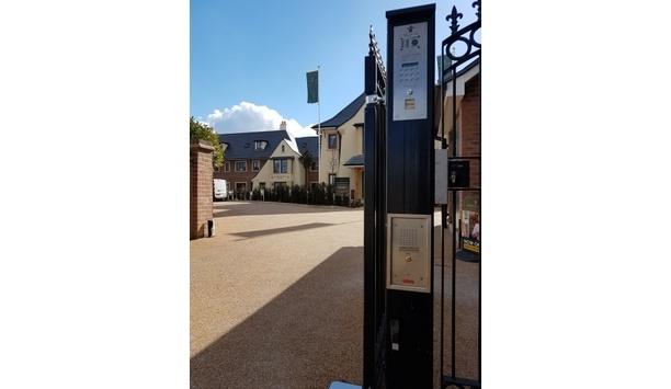 Comelit safeguards Renaissance Retirement's new Fleur-de-Lis site in Marlborough