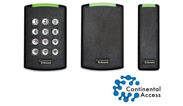 Continental Access launches E-Access readers for their E-Access embedded access control line