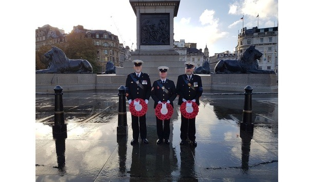 Corps Security takes part in the National Remembrance Day March Past