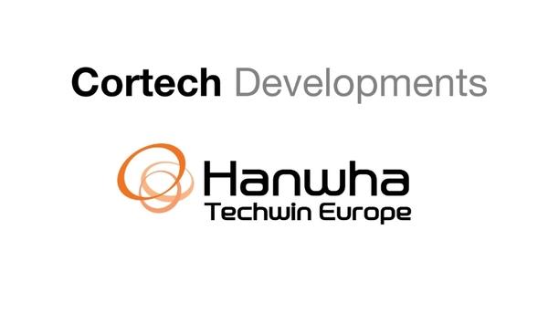 Cortech Developments' Datalog MV integrates with Hanwha Techwin's Wisenet NVRs