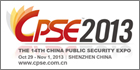 CPSE 2013 provides global security manufacturers a platform to display their innovations