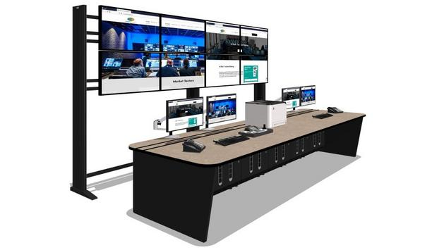 Custom Consoles SteelBase and MediaWall maintain public safety at Middle East Museum