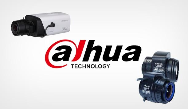 Dahua Technology Adopts Theia 4K Lenses On Ultra HD Box Camera