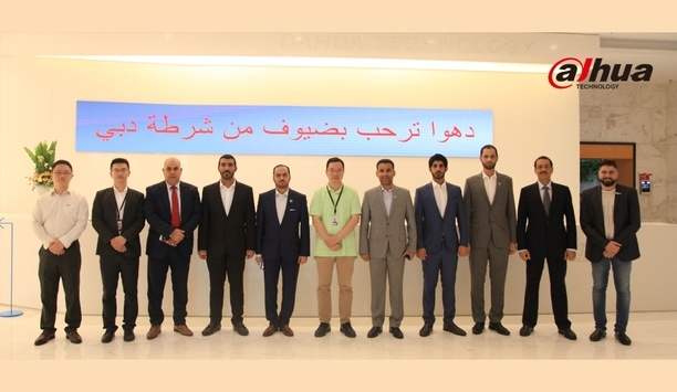 Dubai Police visited Dahua Technology HQ in a bid to enhance city's security