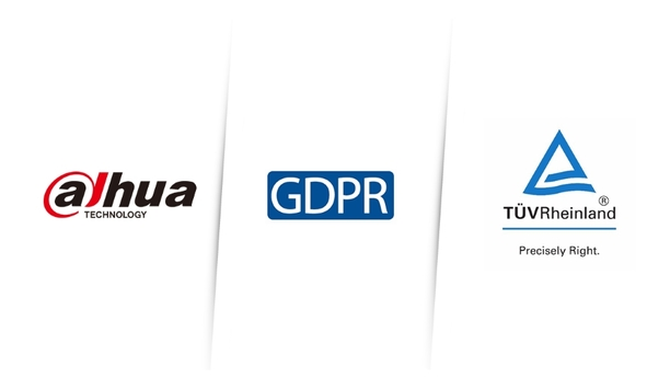 Dahua IP video products receive GDPR compliance certification from TÜV Rheinland