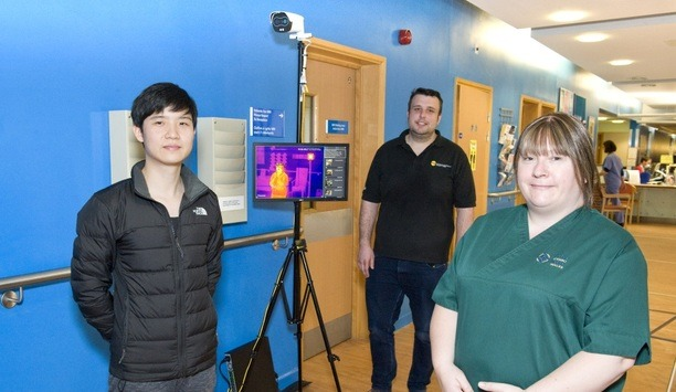 Oprema And Dahua Provide Thermal Imaging Solution To Protect Frontline Workers At University Hospital Llandough