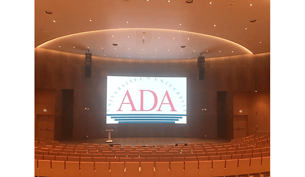 Dahua helps ADA University modernise education system with the installation of Azerbaijan first LED Screen